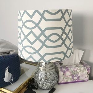Other - Turquoise lamp shade